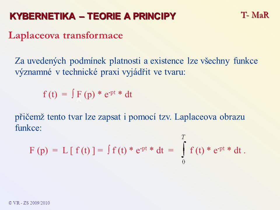 F (p) = L [ f (t) ] = ∫ f (t) * e-pt * dt = f (t) * e-pt * dt .